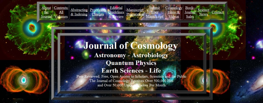 Journal of Cosmology home page