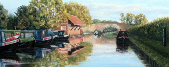 October afternoon - Aynho Wharf, Marie Robinson